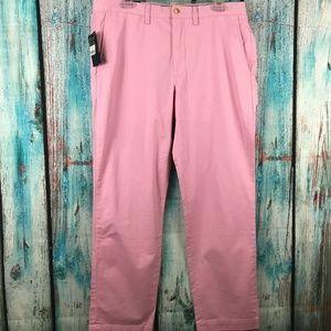 Polo Ralph Lauren Men's Chino Pants Pink Stretch